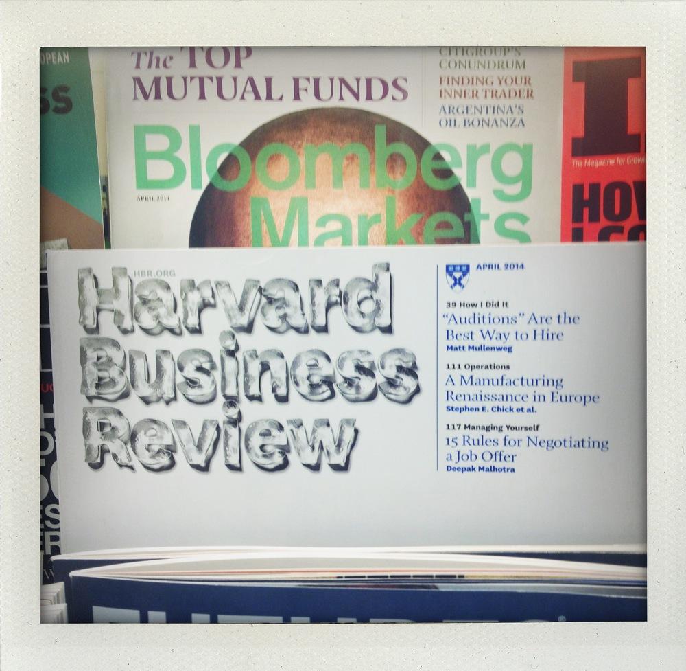 HBR Magazine, April 2014