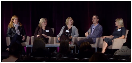 ON THE CMO PANEL AT  THE 3% CONFERENCE  IN SAN FRANCISCO.