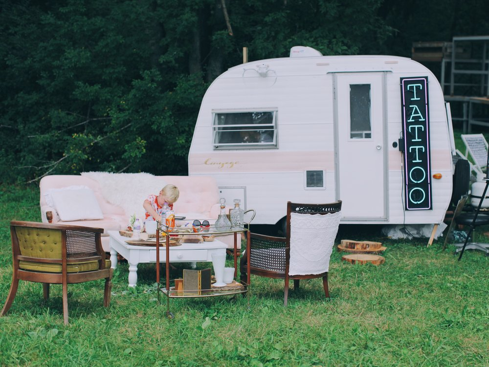 Vintage Tattoo Trailer