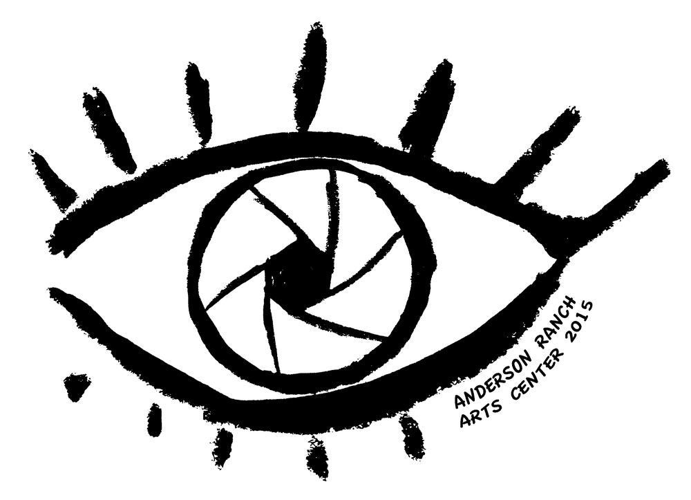 Class logo created for The Photographer's Eye at Anderson Ranch (2015)