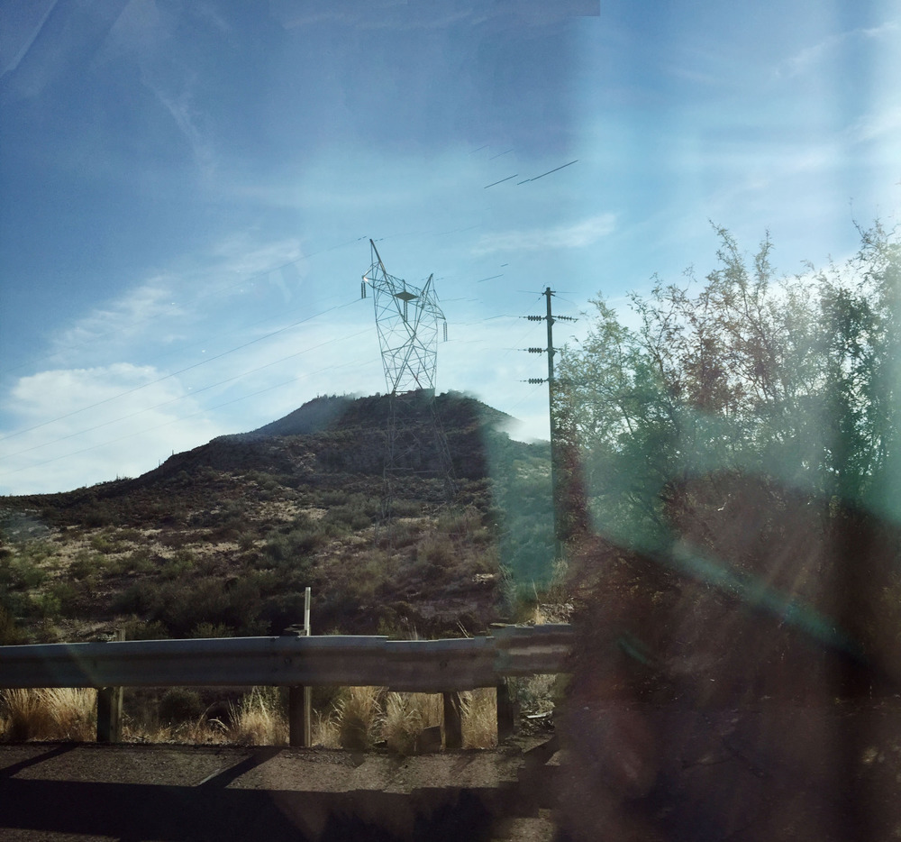 An iPhone panorama taken in a moving vehicle.  2015   wwww.amandamollindo.com
