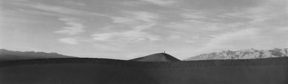 Conversation, 2011/2017 silver gelatin print limited edition of 5 3 x 9 inches