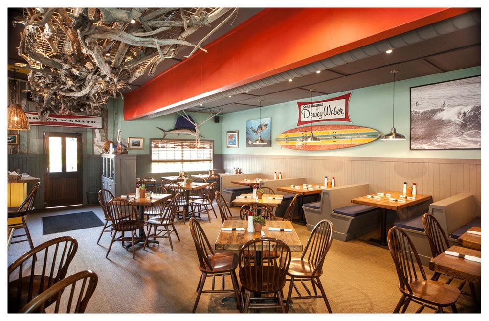 Inside Rita's Seaside Grille