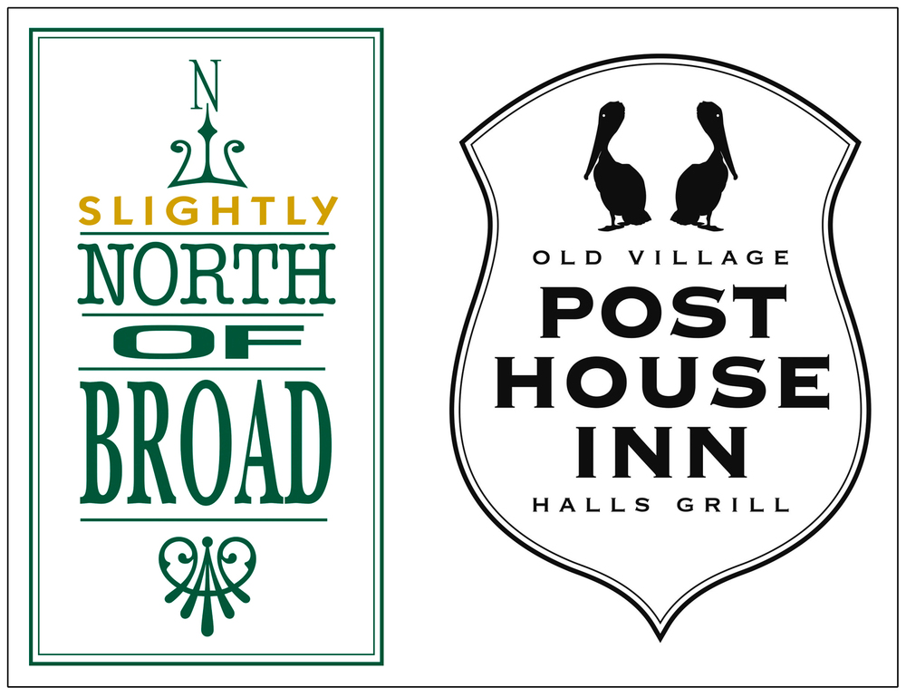 Slightly North of Broad  |  Old Village Post House Inn