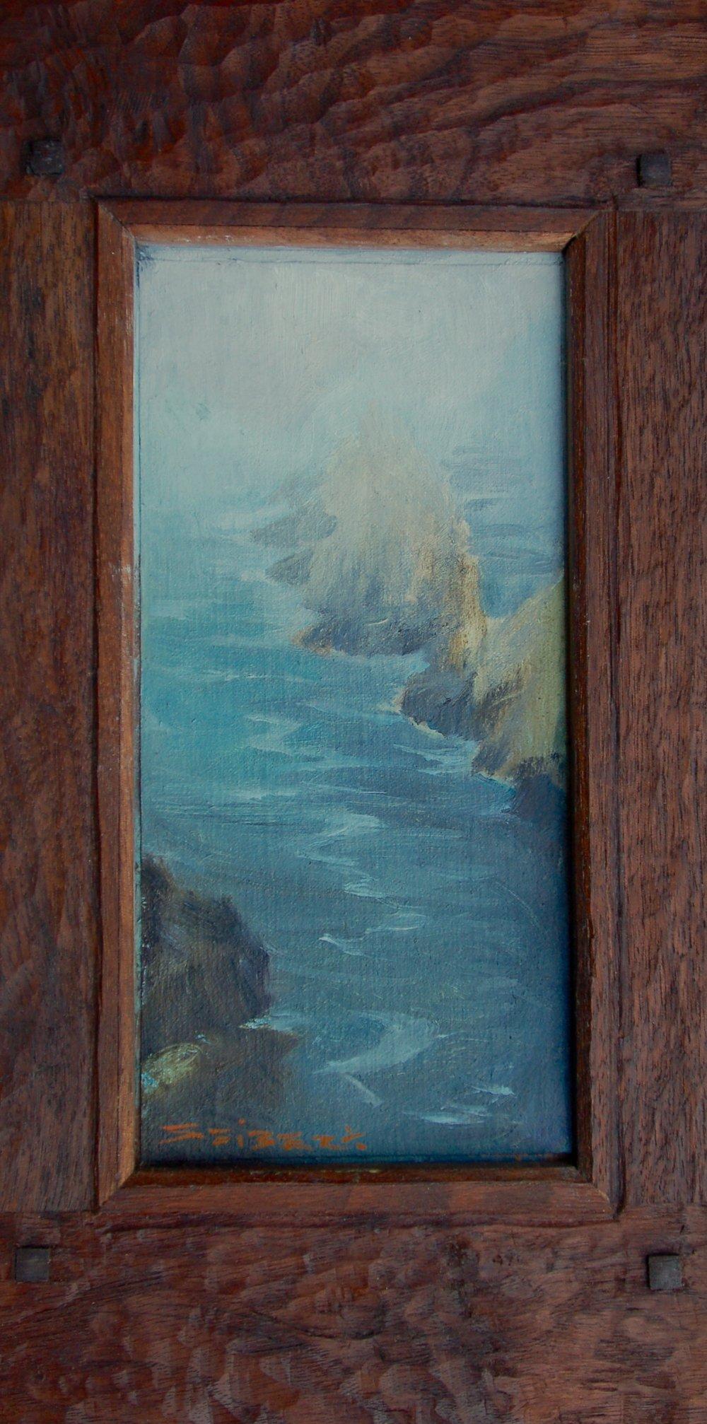 Pinnacle In Mist I