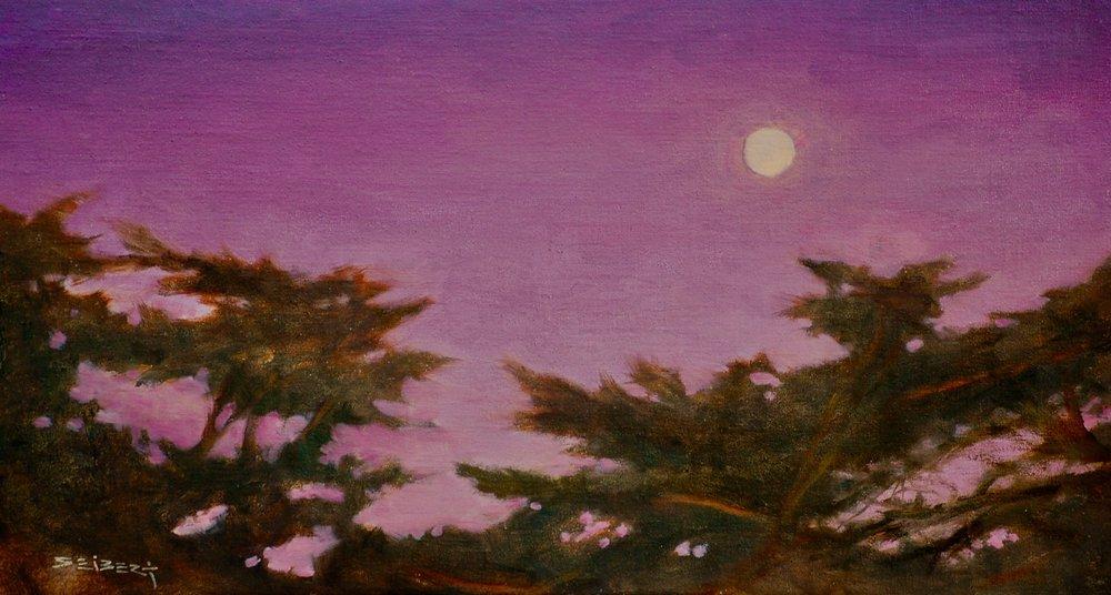 Moon Over Cypress
