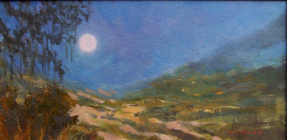Moon Over Carmel Valley