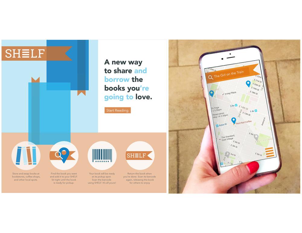 Shelf: A community book sharing app