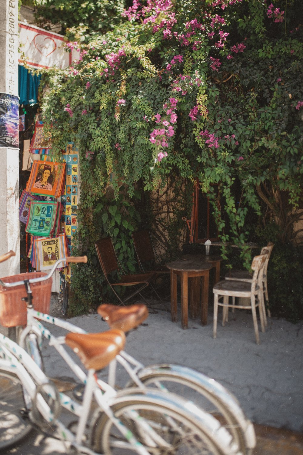 One of the many cute little corners of Tulum.