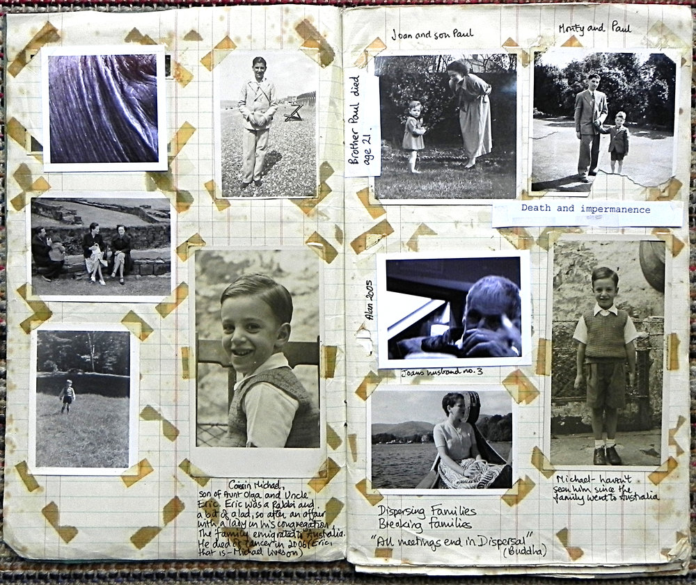 Altered Family Album -