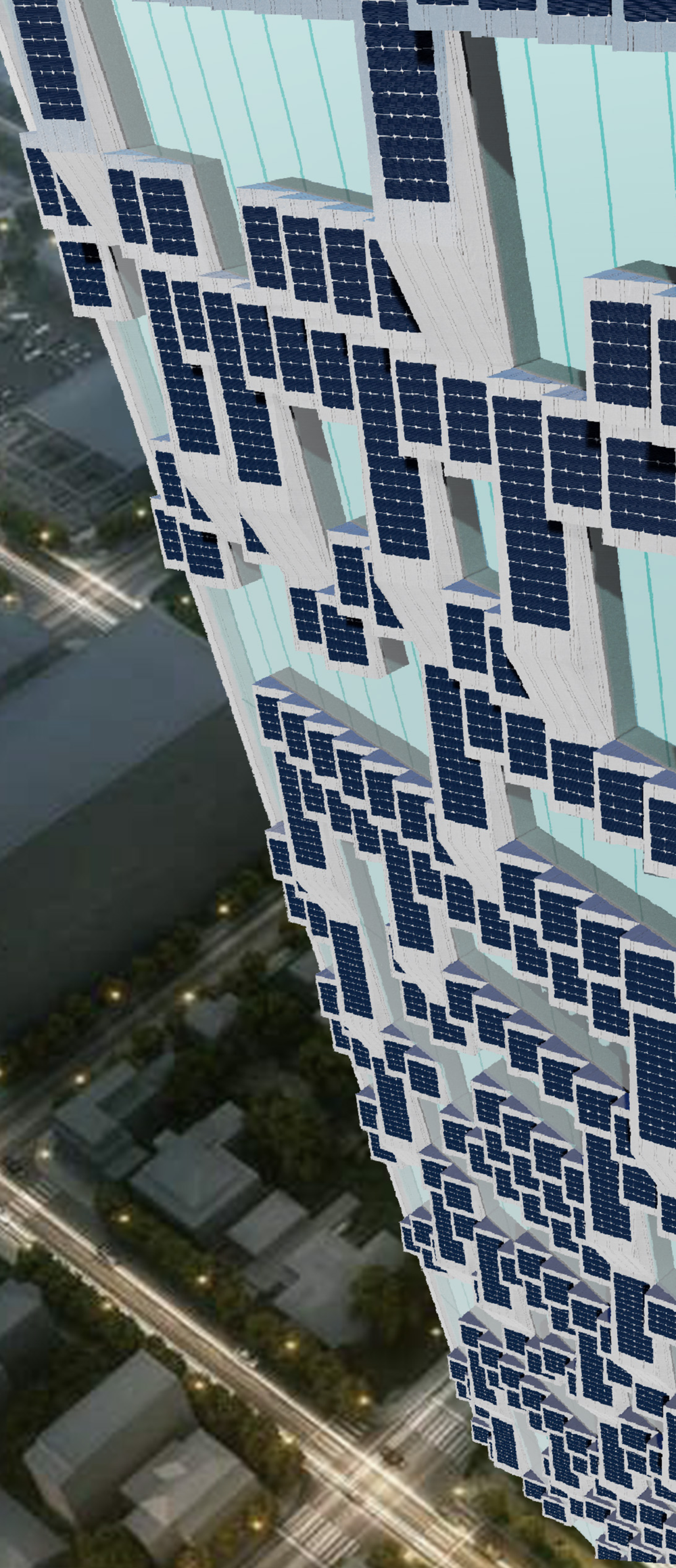 Vertical Facing Pvilion x CL Talon Facade System