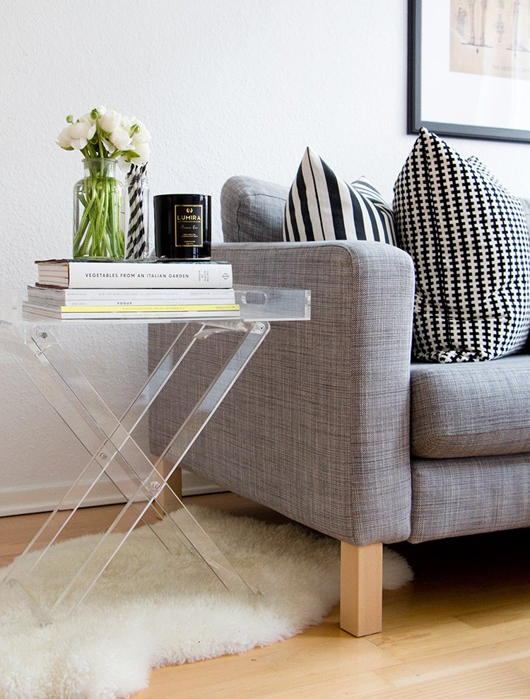 Styling an end table with Not Your Standard