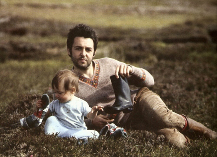 Paul McCartney with daughter Stella