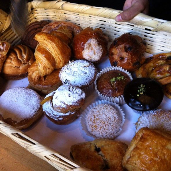 Pastries at Cumpanio Restaurant