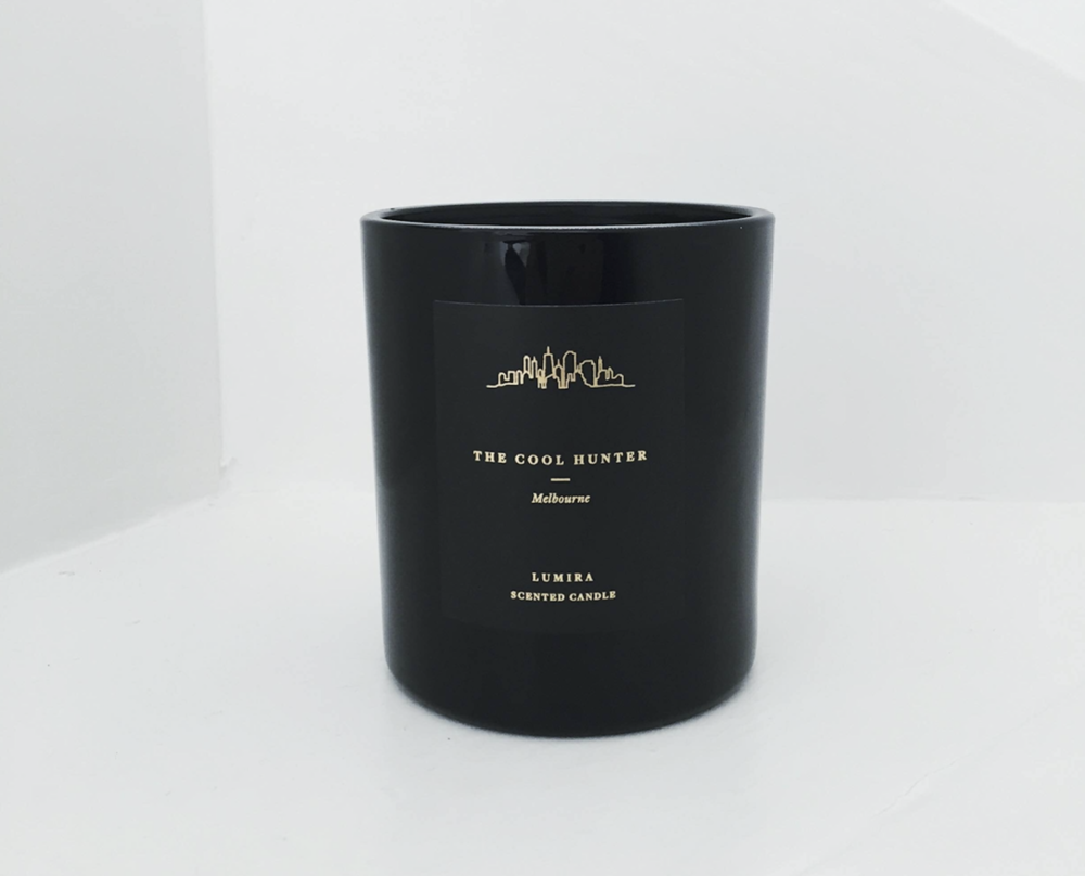 Lumira X The Cool Hunter candle