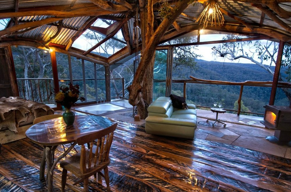 Image via Wollemi Wilderness Treehouse.