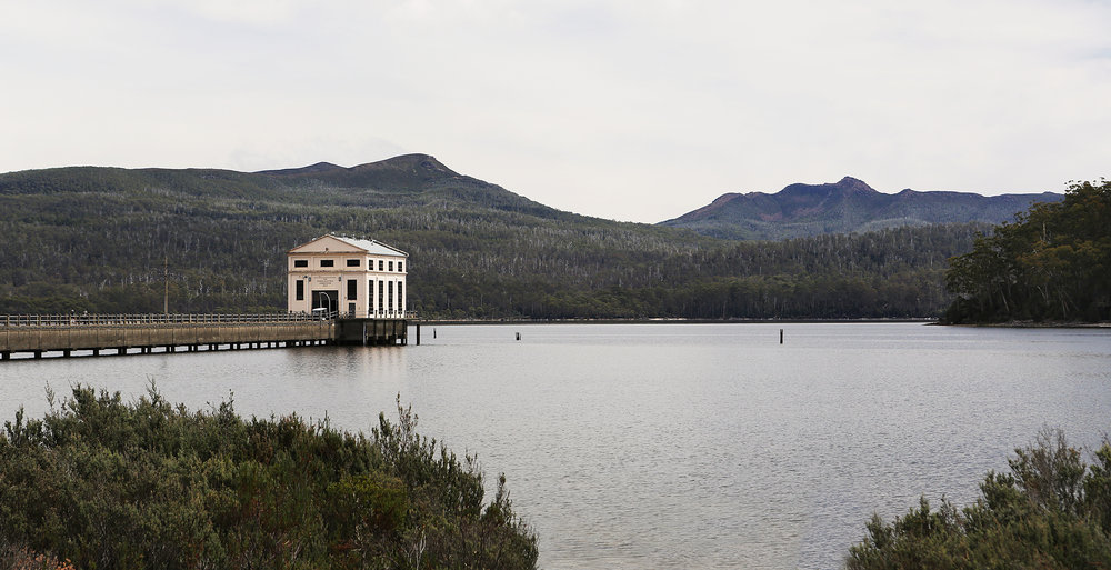 Image of Pumphouse Point, Tasmania via In Bed With.