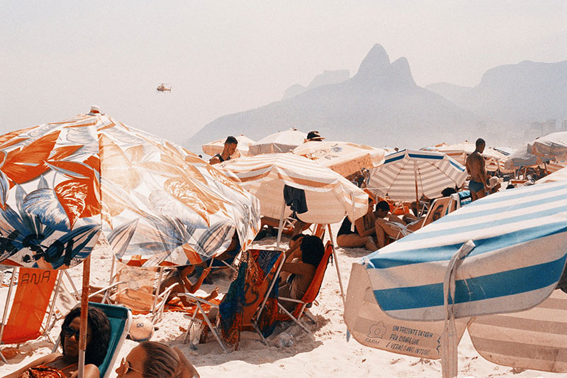 Photo by Akila Berjaoui, 'Palms, Ipanema'