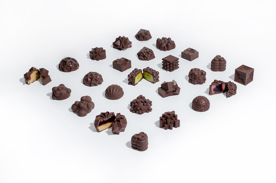 Mixed flavoured Chocolates by  Ryan L Foote
