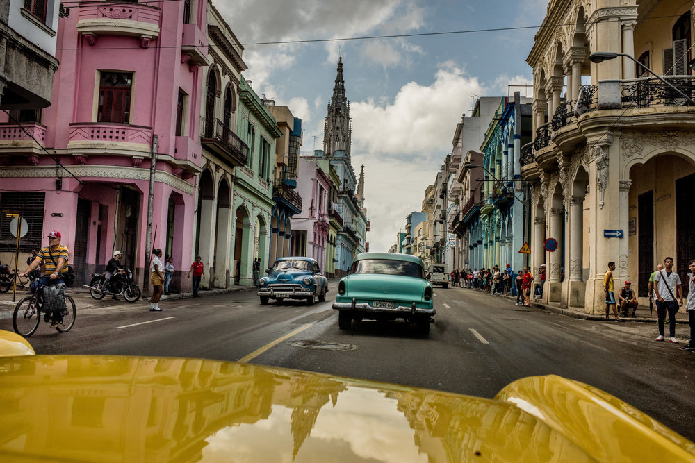 Streets of Havana, Photography via NY Times (Tomas Munita for The New York Times)