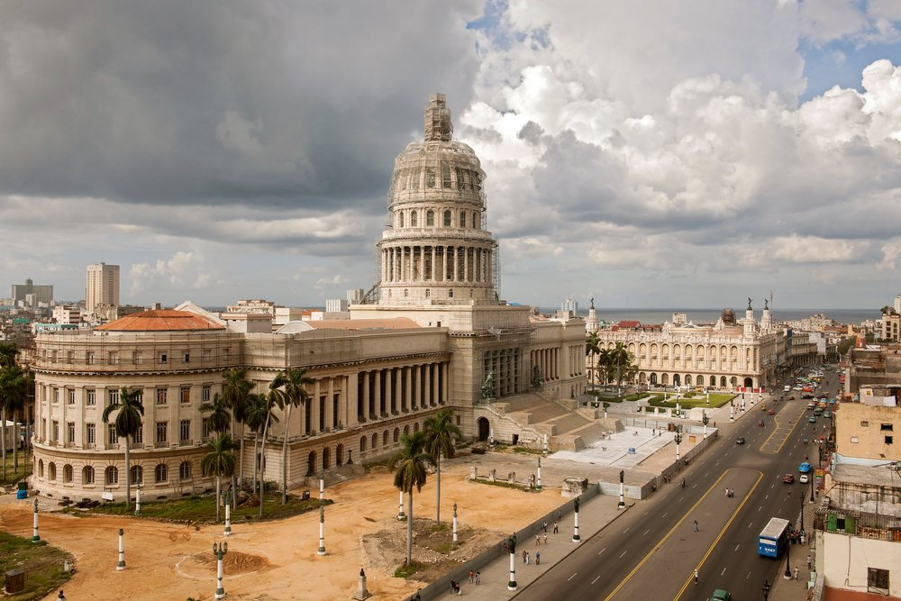 El Capitolio, the National Capitol Building in Havana, Photography via NY TImes (Robert Rausch for The New York Times)