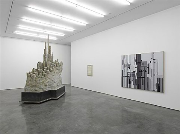 Pictured: Liu Wei at White Cube