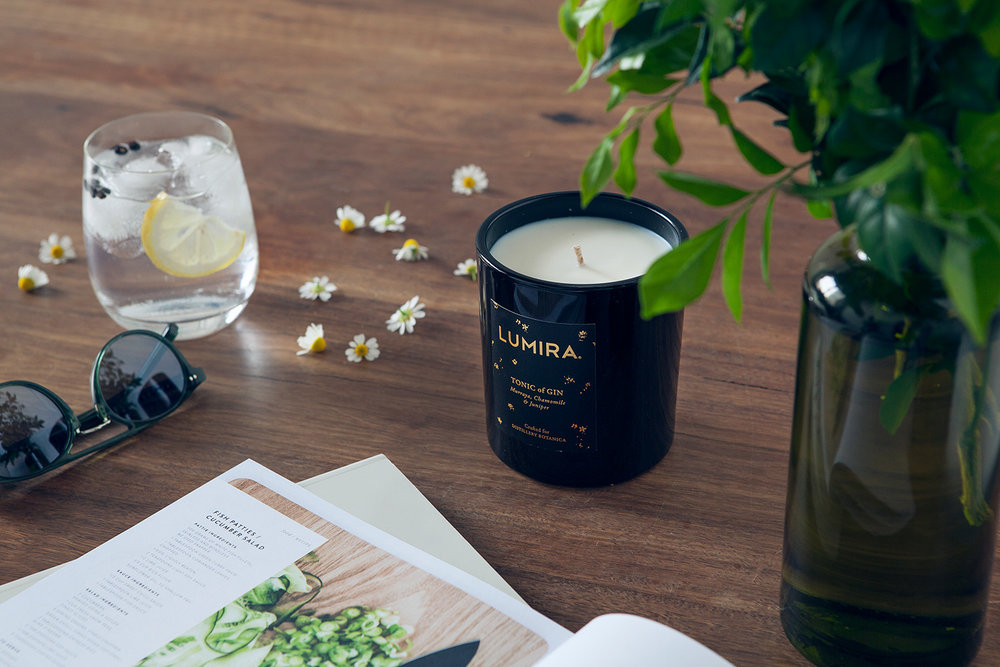 LUMIRA Tonic of Gin x Distillery Botanica Luxury Scented Candle