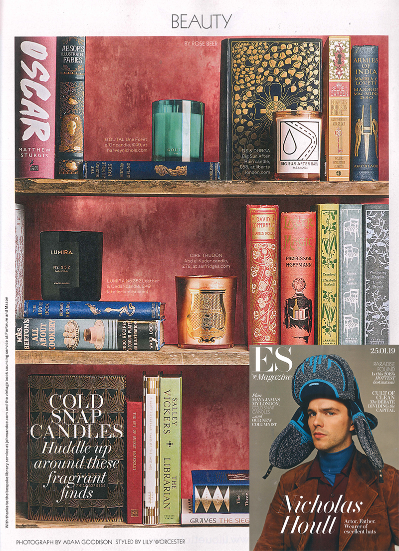 ES Magazine London - Lumira - No 352 Leather Cedar Candle.jpg