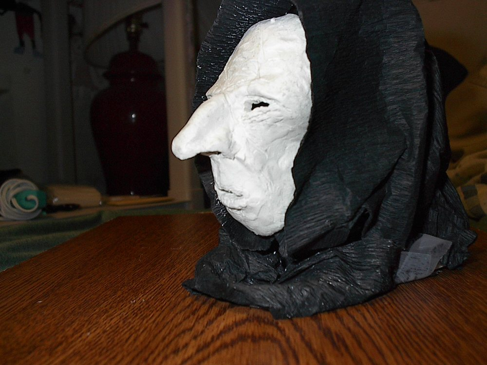 Model of the Spider Woman mask