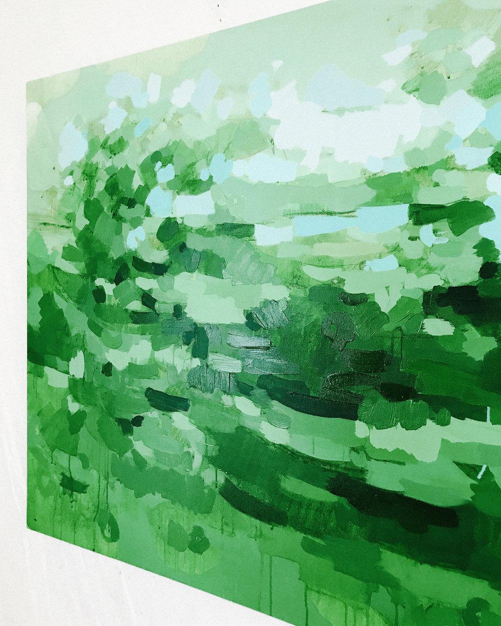 Glendalough Abstract Painting by Katherine Jury 1.JPG