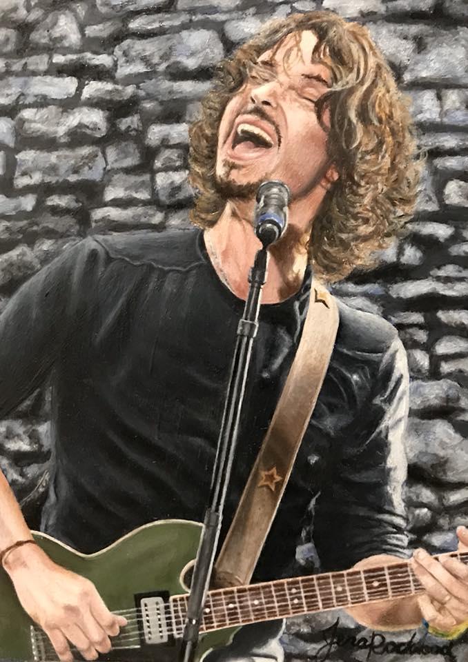 "Chris Cornell - ""Like a Stone"""