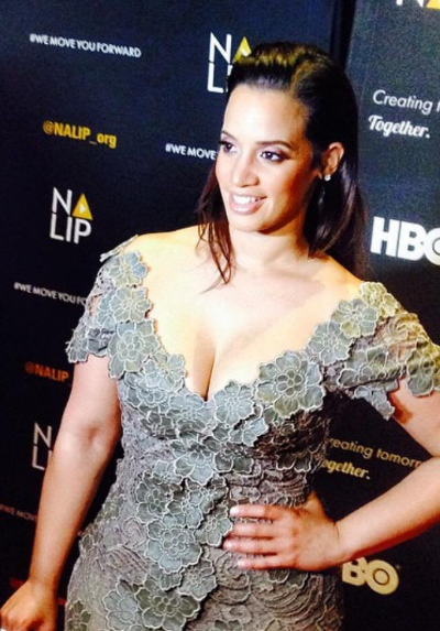 Dascha Polanco on the Red Carpet