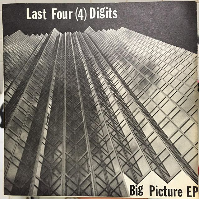 The Last Four (4) Digits were an Indianapolis #NewWave art-punk band that morphed out of the late '70s Midwest scene. This is #punk music for real weirdos. Released in 1980, this EP is the bands only official release and is marked by thin electronics that have an early Nintendo vibe, punk posturing, and a little bit of #BrianEno / #RoxyMusic worship. It's really an incredible testament to what you can achieve in any small scene, regardless of your distance from the epicenter. Just make music for you and yours and let the rest of us catch up later. In this case, 35 years later.  #records #recordcollector #recordcollection #vinylporn #vinyladdict #vinyligclub #vinyljunkie #punkrock #artpunk #indianapolis