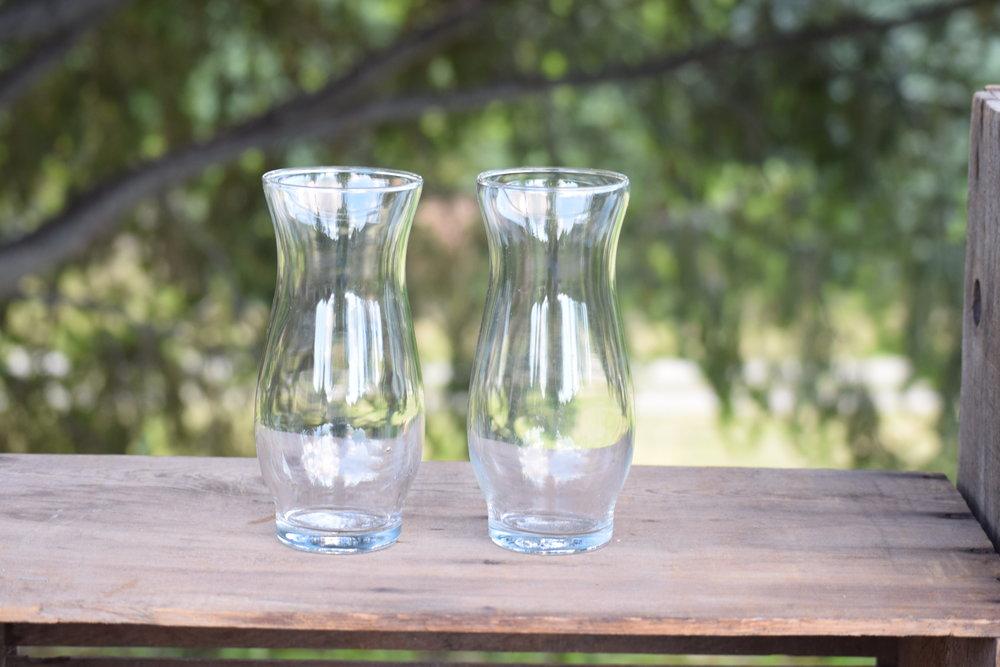 Assorted Glass Vases Hrj Events Vintage Rentals