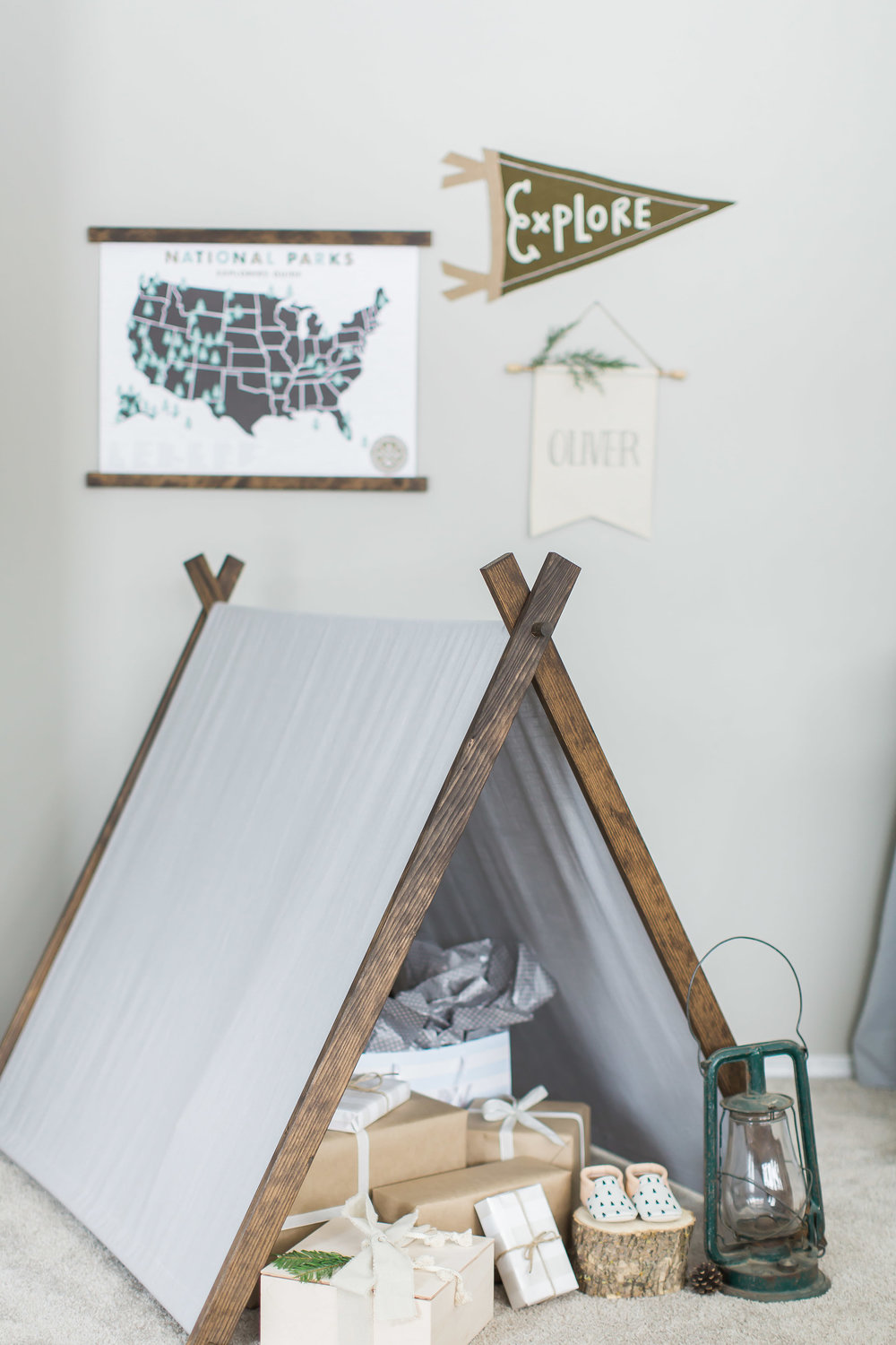 National Parks Theme Baby Shower