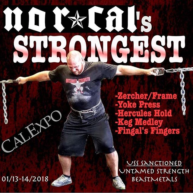 @untamedstrength and #beastmetals #sacramento #fitness expo #strongman #strongwoman #fitness #calisthenics