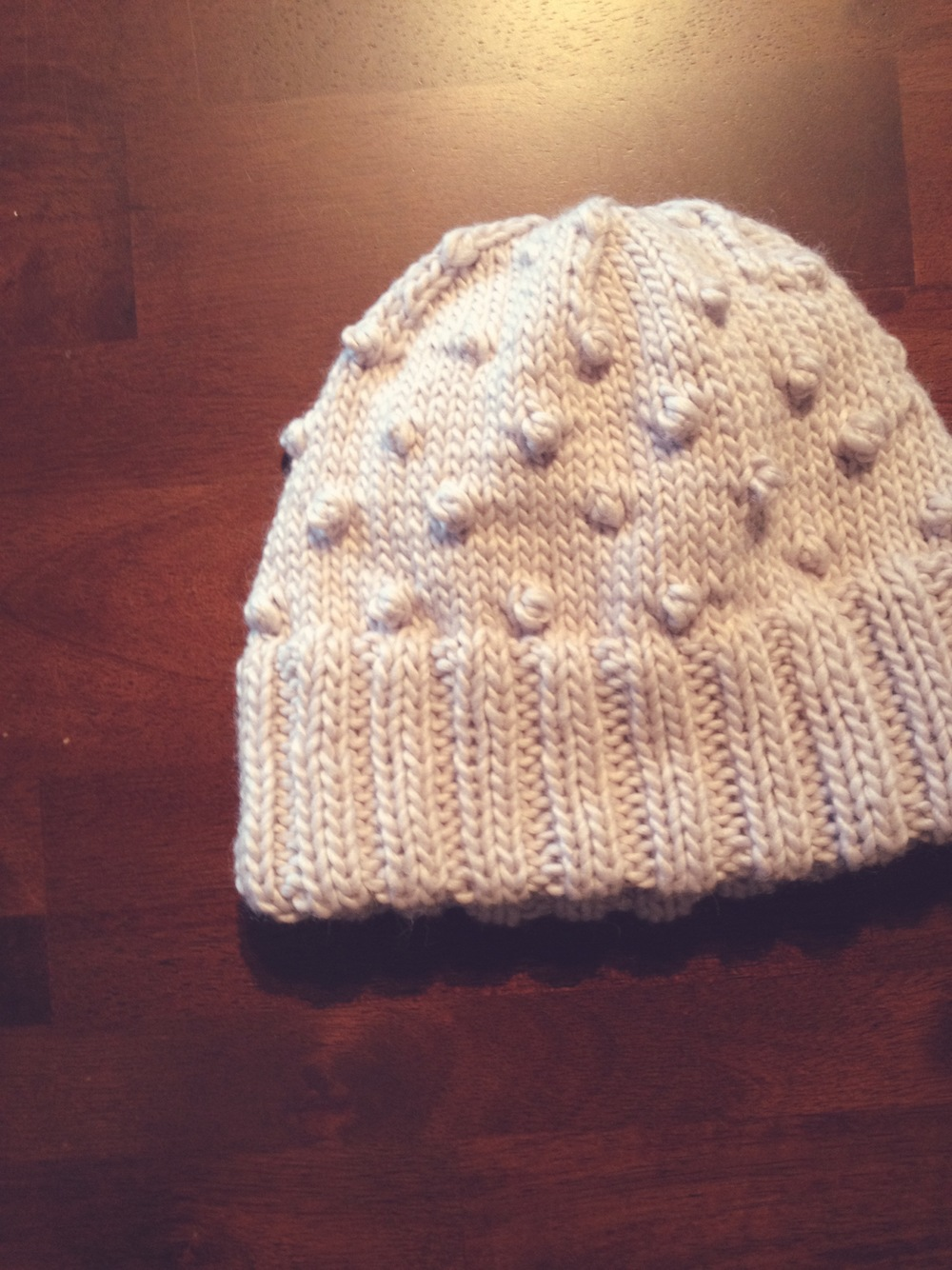 This hat is a modified version of Erica Knit's Diode pattern
