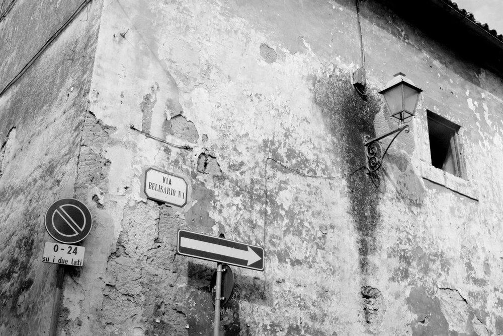 Wall, Orvieto