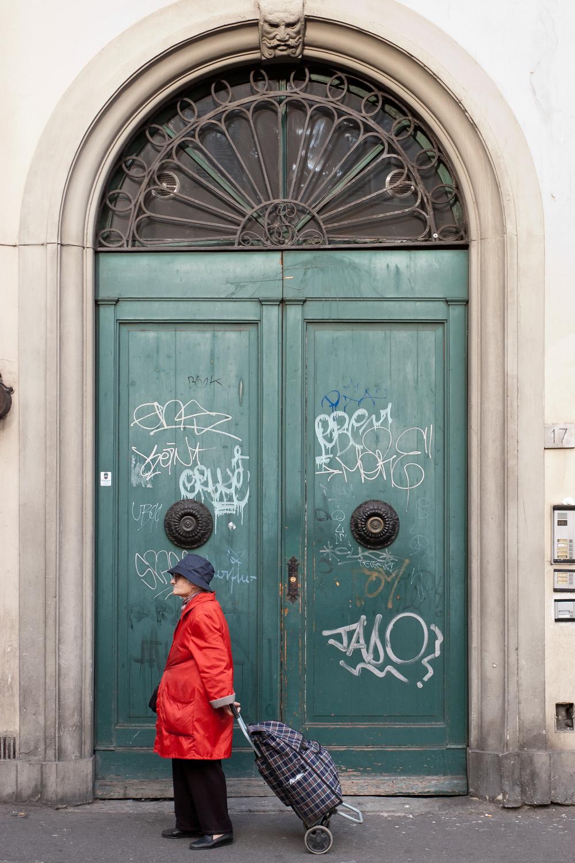 Woman & Door