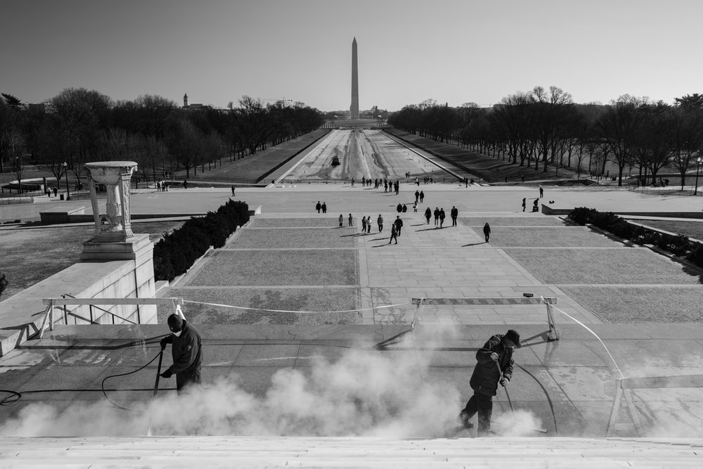 Lincoln Memorial Cleaning, NW