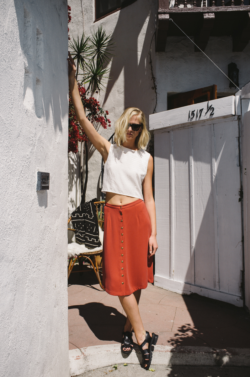 Billie Top + Charlie Skirt