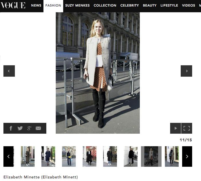 Bon George x Vogue Japan