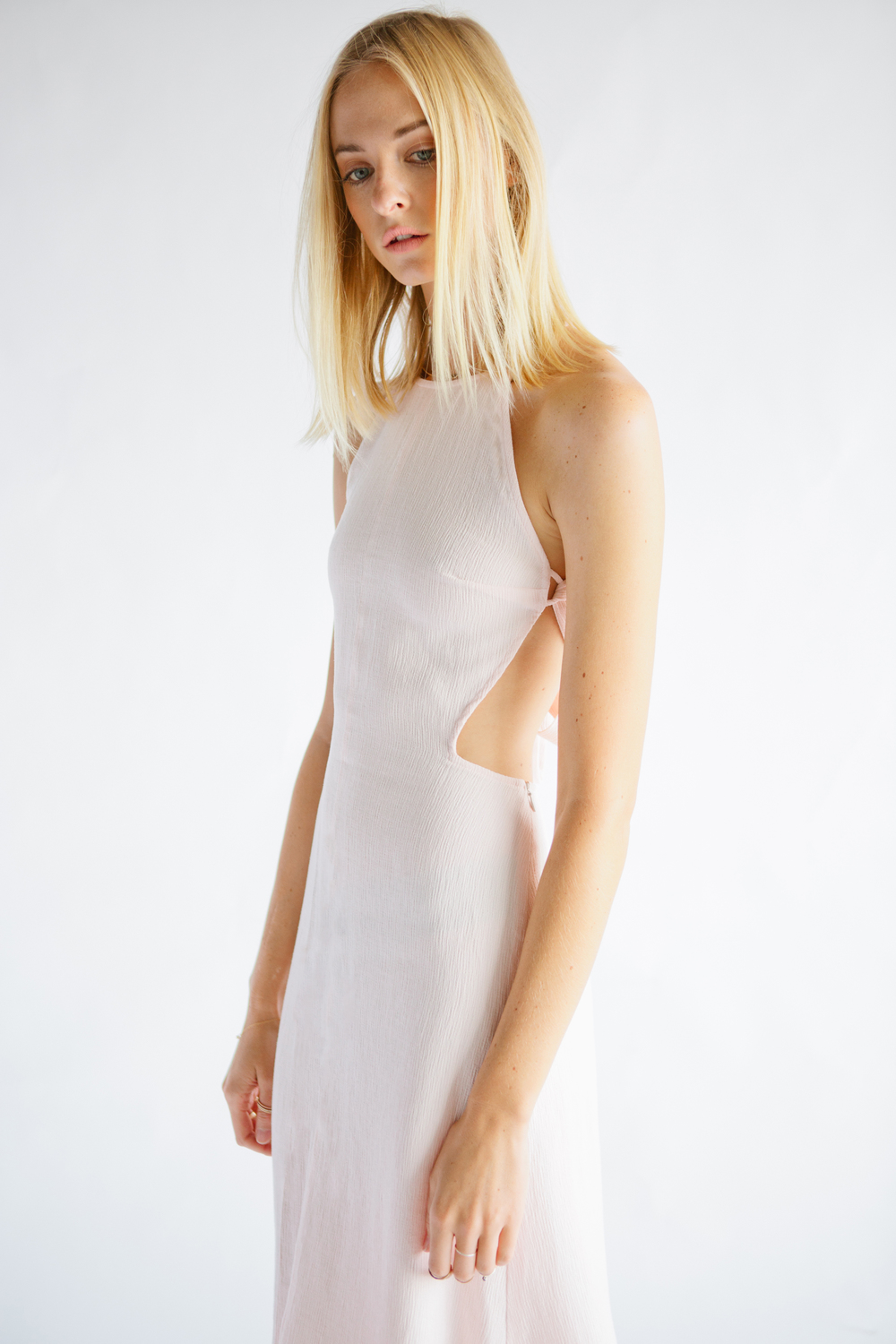 THE BENNETT DRESS - LIGHT PINK