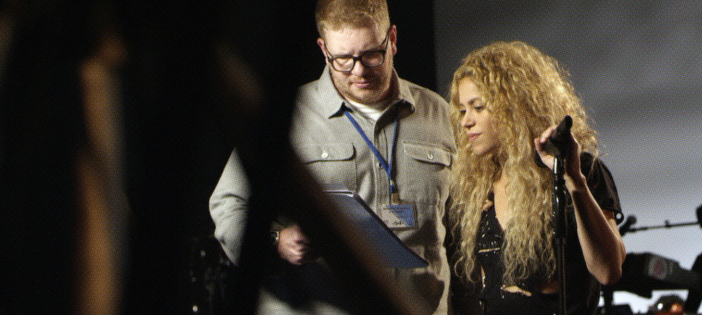 Ryan in Barcelona, Spain directing Shakira for T-Mobile