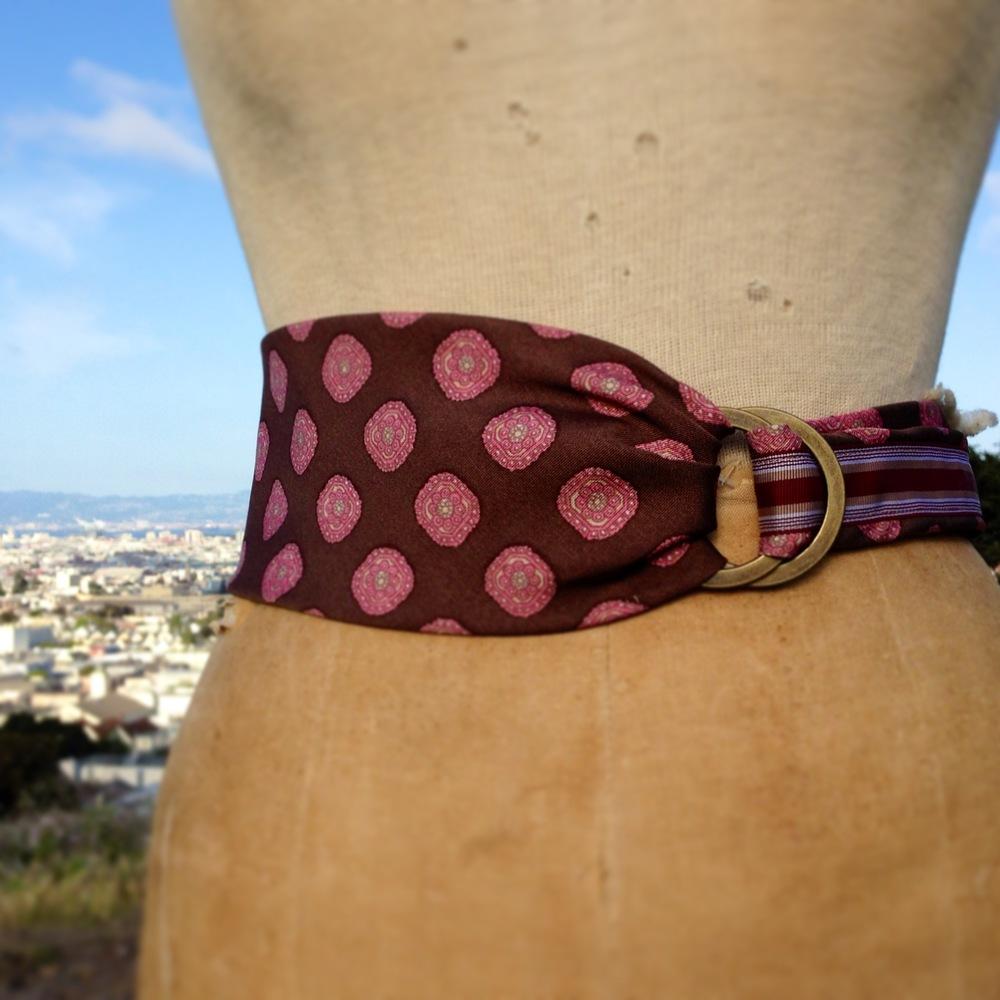 e.b.friday necktie buckle belt