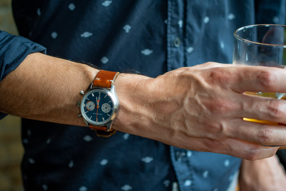 Navy Jackson Flyback Chronograph