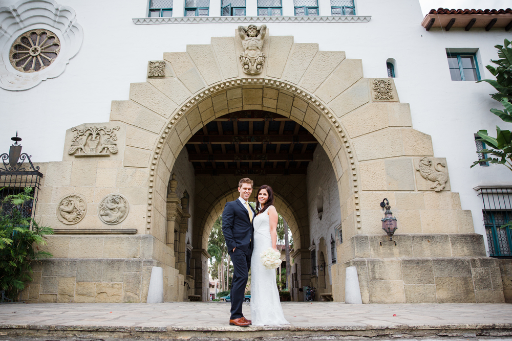 a santa barbara courthouse wedding amanda ryan