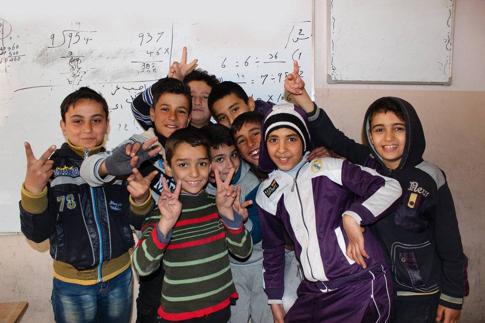 PARTNER WITH A SCHOOL - We are partnering with schools in Iraq and Syria to help provide resources and support as they rebuild. More details coming soon!