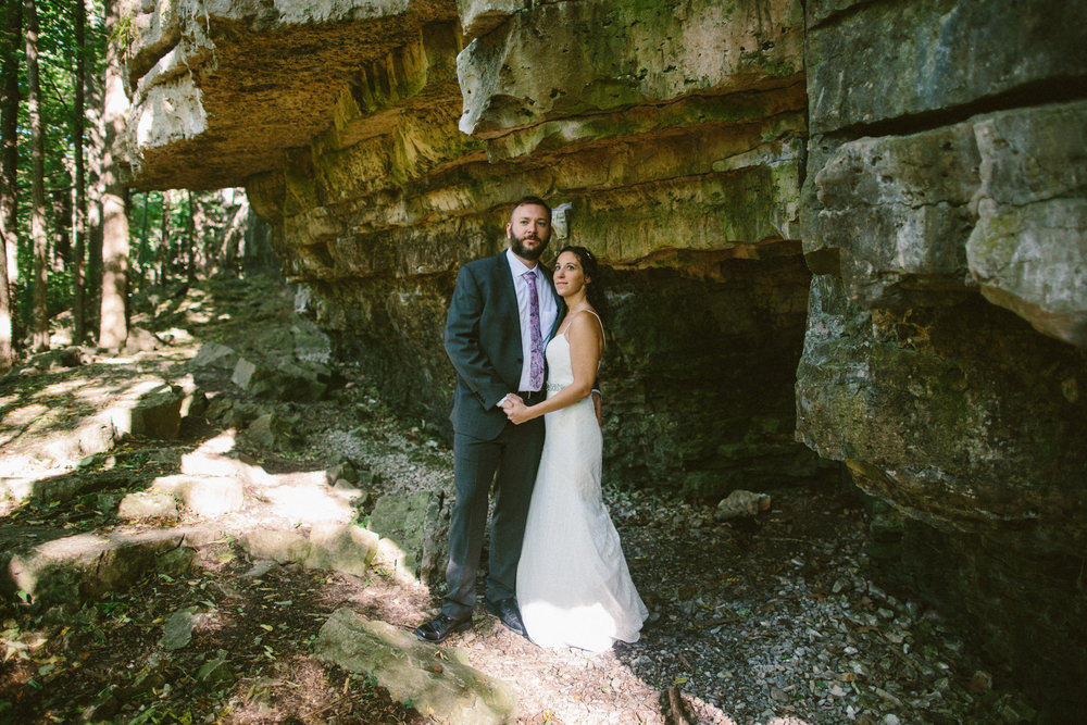 Lisa + Shannon - High Cliff State Park, Wisconsin