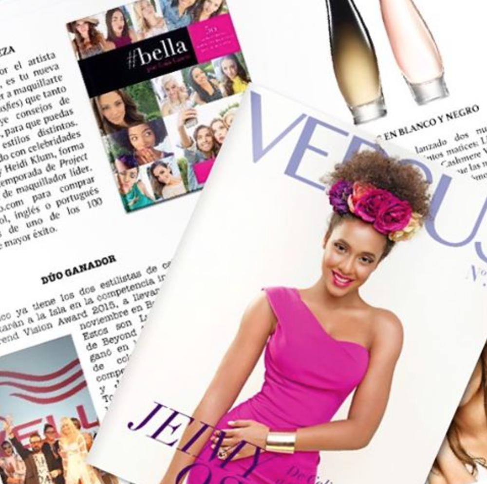 #bella en Revista Versus Puerto Rico